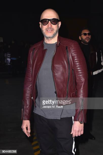 Saturnino Celani attends the Diesel Black Gold show during Milan Men's Fashion Week Fall/Winter 2018/19 on January 13 2018 in Milan Italy