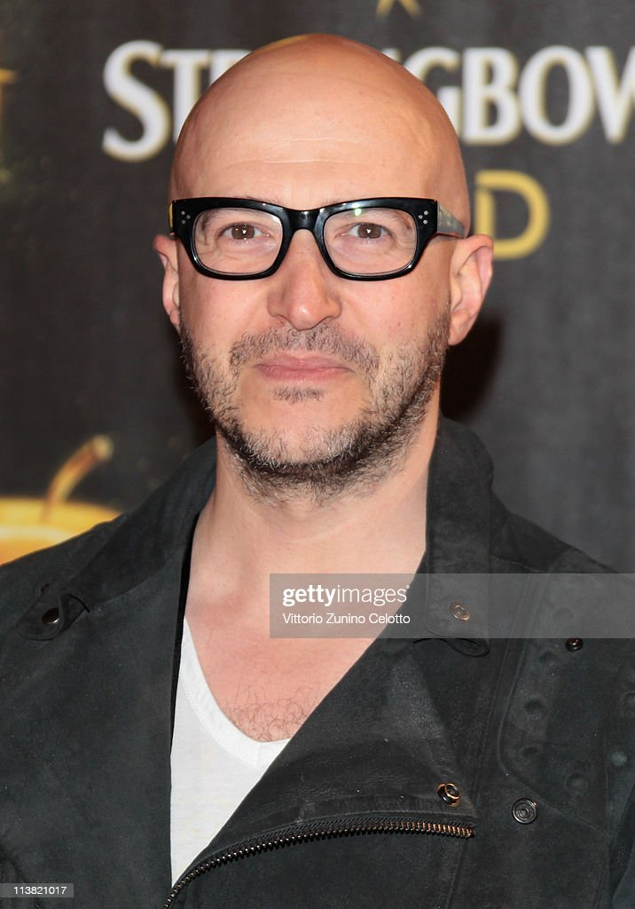 Saturnino Celani attends 'The Gold Experience' red carpet on May 6, 2011 in Milan, Italy.
