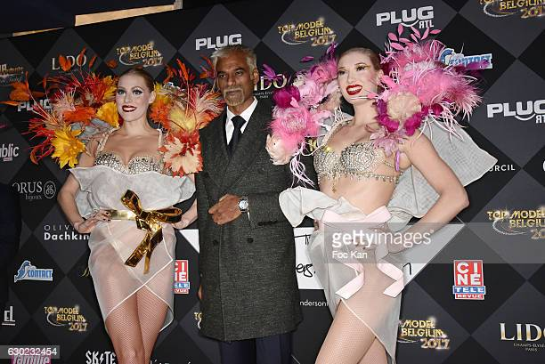 Satya Oblette attends the 'Top Model Belgium 2017' Ceremony at Le Lido on December 18 2016 in Paris France