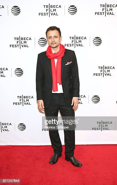 Satyadeep Misra at Madly Premiere 2016 Tribeca Film Festival at Chelsea Bow Tie Cinemas on April 14 2016 in New York City