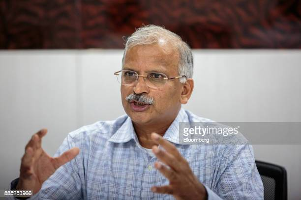 Satyanarayana Chava, founder and chief executive officer of Laurus Labs Ltd., speaks during an interview in Visakhapatnam, Andhra Pradesh, India, on...