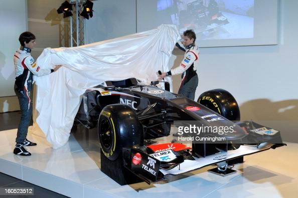 Fotos Und Bilder Von Sauber F1 Launch Getty Images