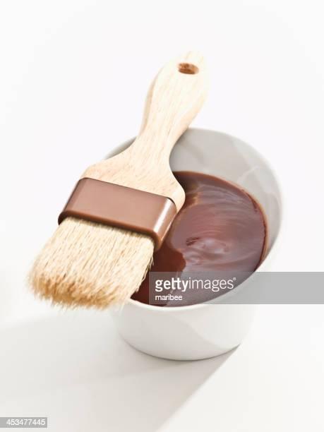 BBQ-sauce mit brush