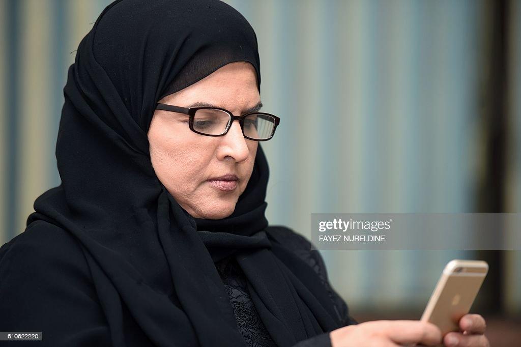SAUDI-WOMEN-RIGHTS : News Photo