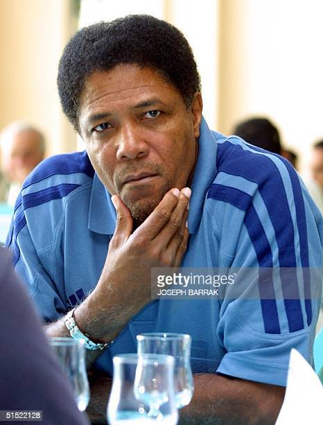 Saudi alHilal club coach Francisco Maturana of Colombia poses 03 March 2002 in Tunis where his club is competing in the Arab Cup Winners Cup...
