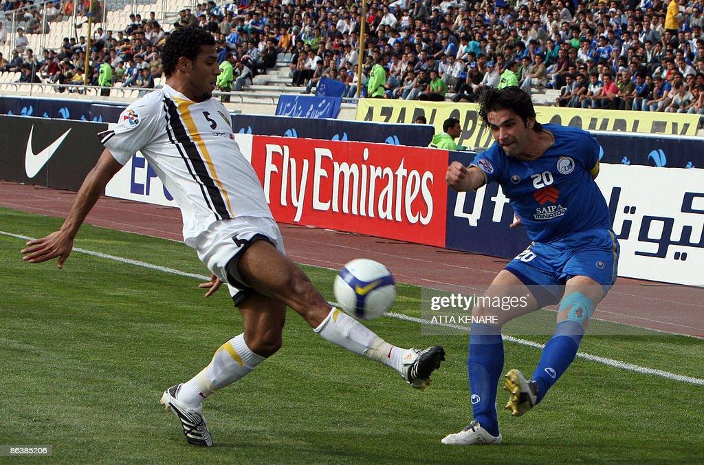 Saudi Al-Ittihad club player Mohammad Sa : Foto di attualità