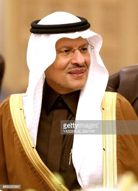 Saudi Arabia Deputy Minister of Petroleum Mineral Resources Prince Abdulaziz bin Salman attends a meeting by the Organisation of Arab Petroleum...