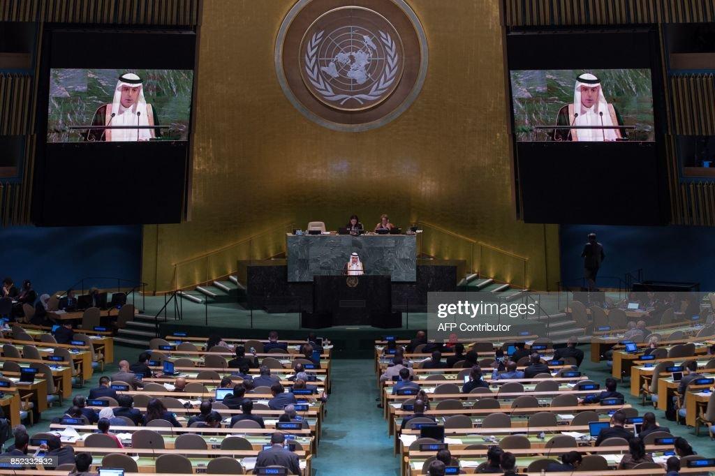 UN-ASSEMBLY : News Photo