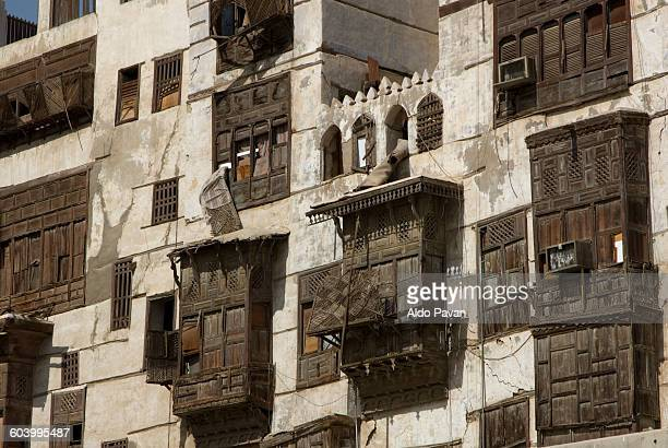 saudi arabia, jeddah, old town - jiddah stock pictures, royalty-free photos & images