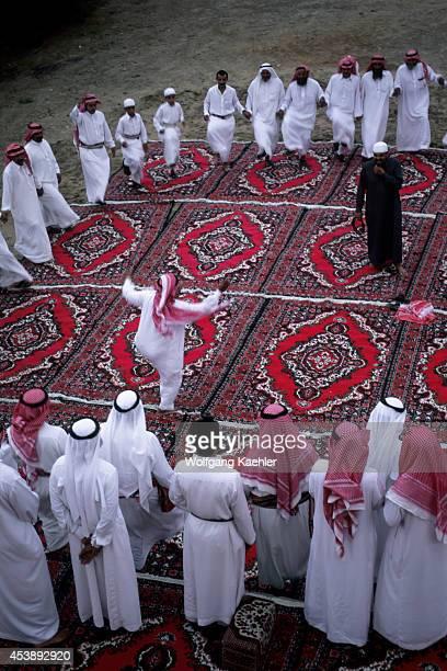 Saudi Arabia Near Abha Al Darb City Assiri Folklore Dances