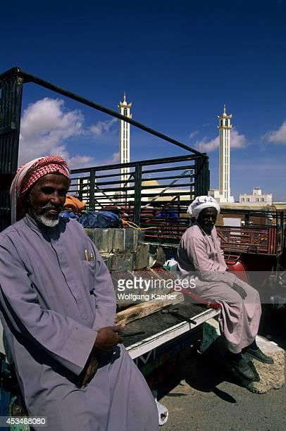 Saudi Arabia Near Abha Al Wadijan Friday Market Farmer Selling Dates