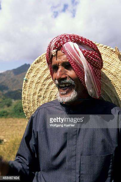 Saudi Arabia Near Abha Wadi Al Aws Farmer Portrait