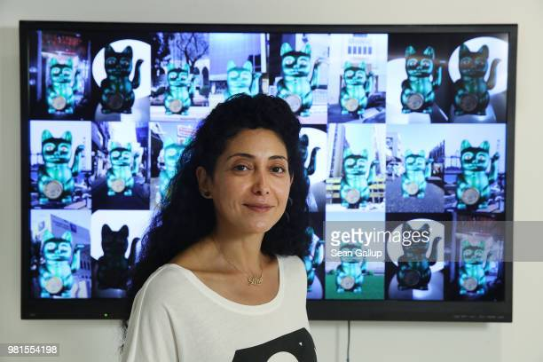'Saudi Arabia will prosper' said artist Lina Gazzaz of the deepreaching social and economic reforms currently underway in Saudi Arabia as she stands...