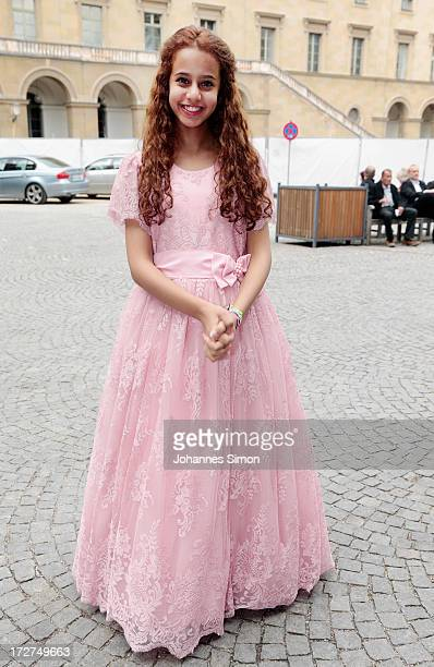 Saudi Arabian actress and award winner Waad Mohammed arrives for the Bernhard Wicki Award ceremony at Munich Film Fesitval on July 4 2013 in Munich...