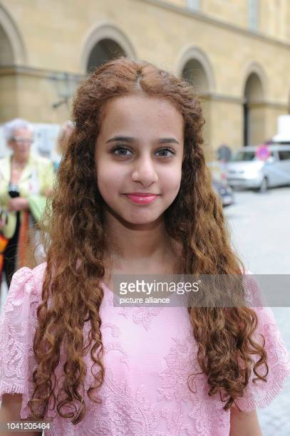 Saudi Arabian actress Waad Mohammed arrive for the ceremony of the 'Bernhard Wicki Film Prize The Bridge German Cinema Award for Peace 2013' at the...