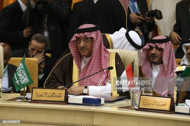 Saudi Arabian Crown Prince and Minister of the Interior Muhammad bin Nayef Abdulaziz is seen during 34th meeting of Arab Interior Ministers Council...