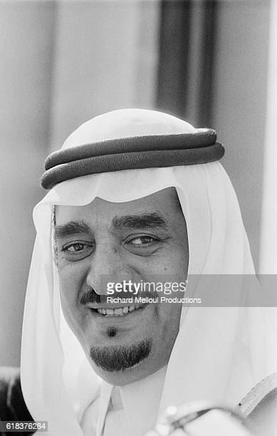 Saudi Arabian Crown Prince Fahd in Paris Prince Fahd made an official visit to France in 1975 the year he was named Crown Prince