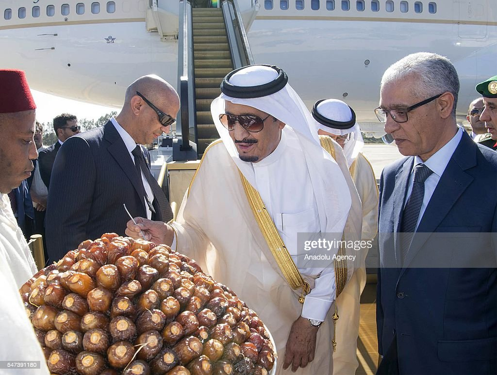 Saudi Arabian King Salman bin Abdulaziz Al Saud in Morocco : News Photo