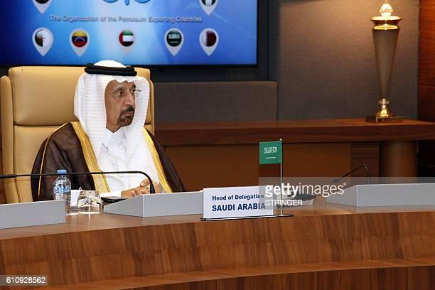 Saudi Arabia's Energy Minister Khalid alFalih arrives for an informal meeting between members of the Organization of Petroleum Exporting Countries...