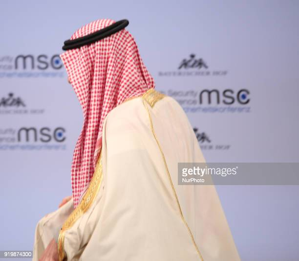 Saudi Arabia's foreign minister Adel bin Ahmed Al-Jubeir spoke at the Munich Security Conference, in Munich, Germany, on 18 February 2018. The MSC...