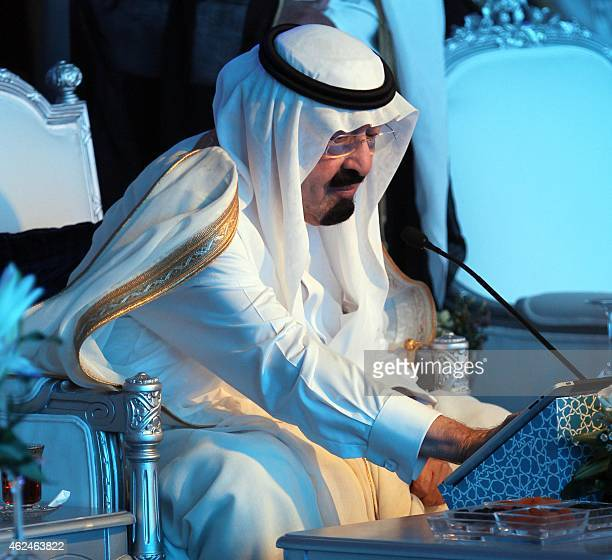 Saudi Arabia's King Abdullah inaugurate a 187milliondollar expansion of the Zamzam waterworks which serves up to worshippers the holy water from a...