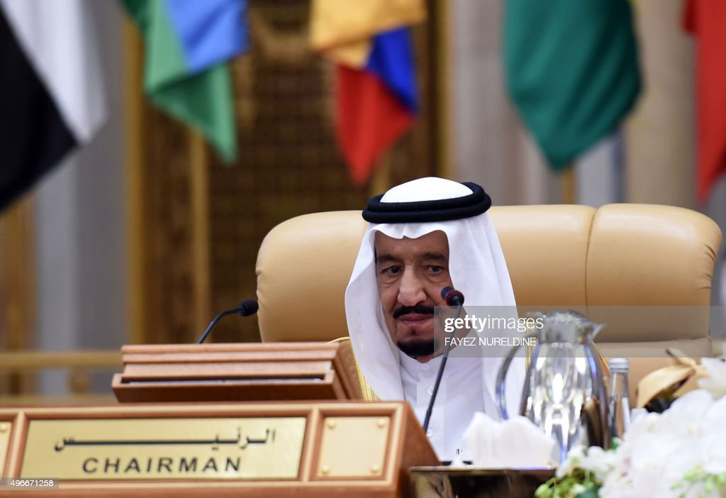 SAUDI-ARAB-LATAM-SUMMIT-KING SALMAN : News Photo