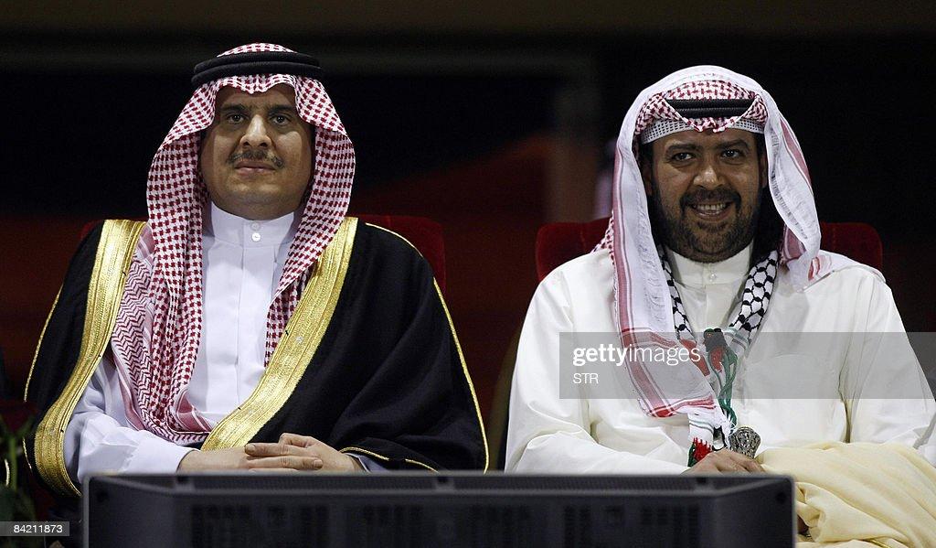 Saudi Arabia's Prince Sultan bin Fahd bin Abdul Aziz al-Saud