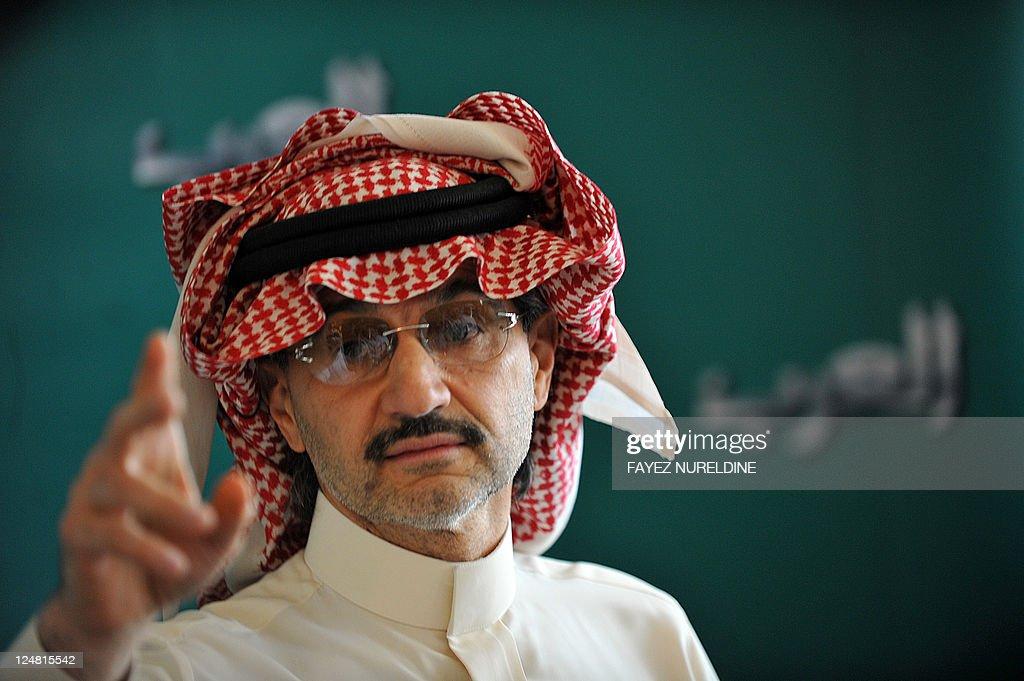 Saudi billionaire owner of Kingdom Holdi : News Photo