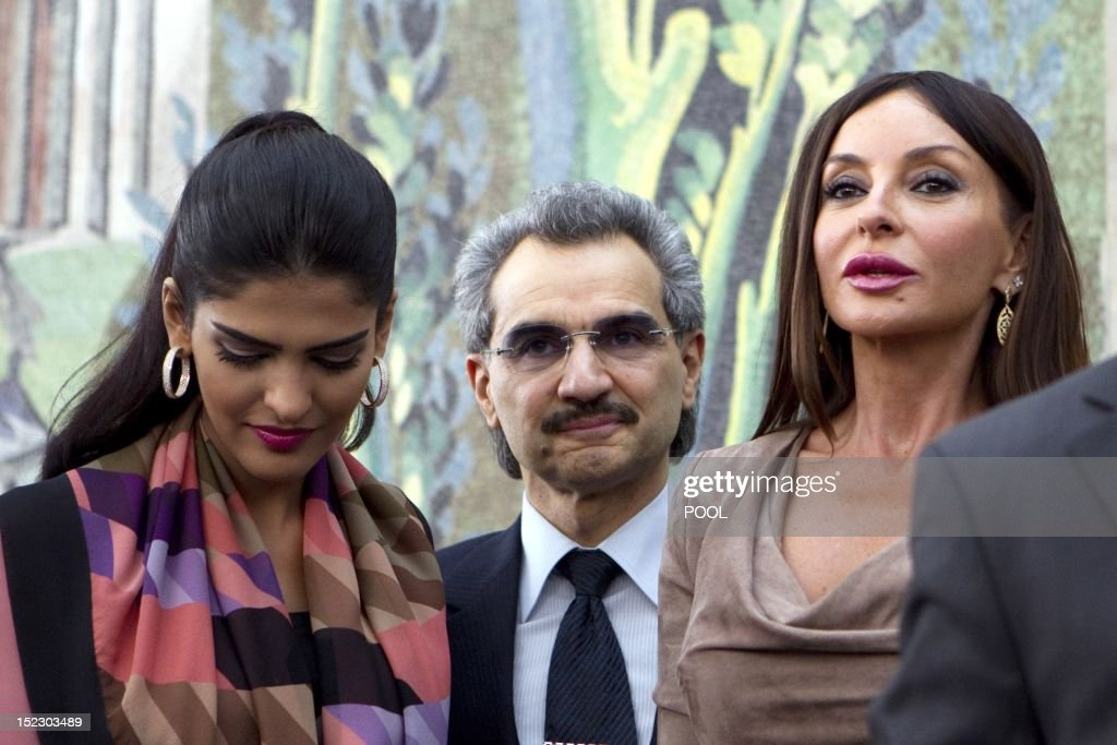 Saudi Billionaire Prince Al Waleed Bin Talal Nephew Of The King C