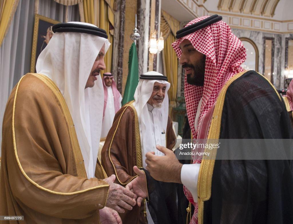 New Saudi crown prince Mohammad bin Salman al-Saud : News Photo