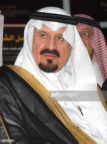 Saudi Crown Prince Sultan bin Abdul Aziz attends the opening ceremony of the Prince Sultan Center for Science and Tecnology in the eastern Saudi city...