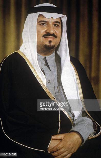 Saudi Crown Prince Sultan bin Abdulaziz al Saud, Saudi Minister of Defense of the Saudi royal family in Saudi Arabia in July 1996 - Prince Sultan,...