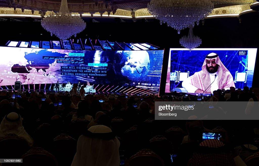 Saudi Arabia's Future Investment Initiative Conference : News Photo