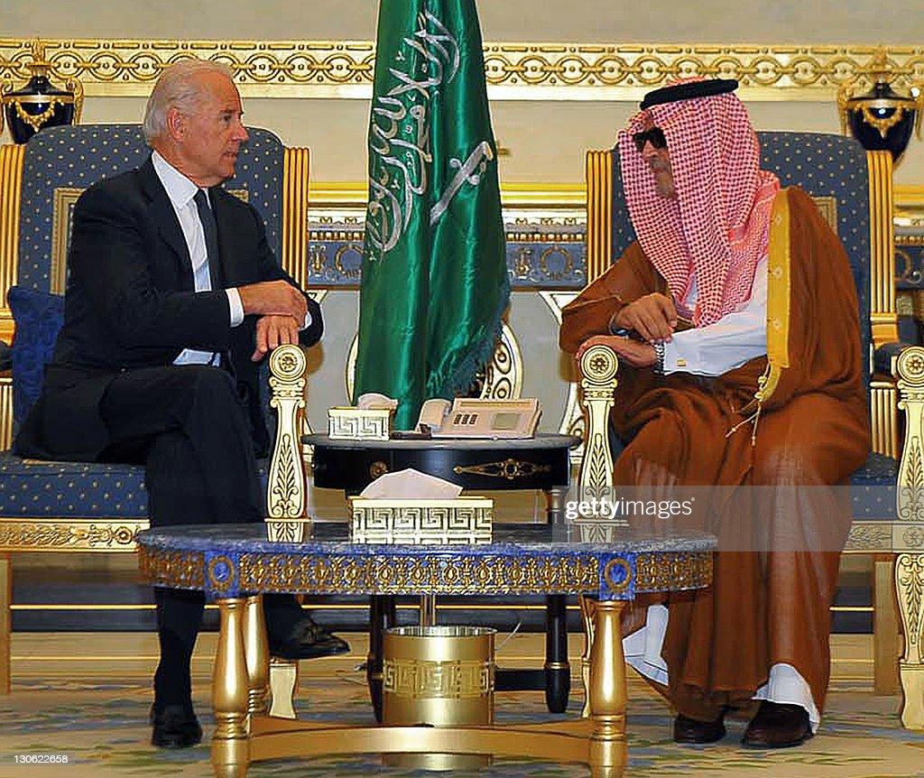 Saudi Foreign Minister Prince Saud al-Fa : Nieuwsfoto's