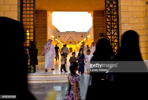 Saudi men enter the mosque for evening prayer in Deira Riyadh Saudi Arabia June 10 2011 Saudi Arabia is governed by Sharia Law which is law according...