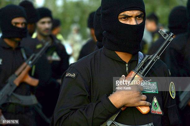 Saudi soldier takes part in a military parade January 15, 2005 in Mecca, Saudi Arabia. Around two million Muslim pilgrims from around the world are...