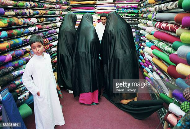 Saudi Women Shopping for Cloth