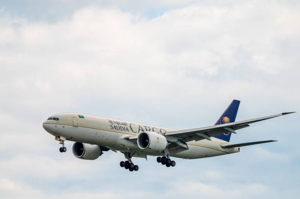 Saudia Airlines Boeing 777F cargo aircraft