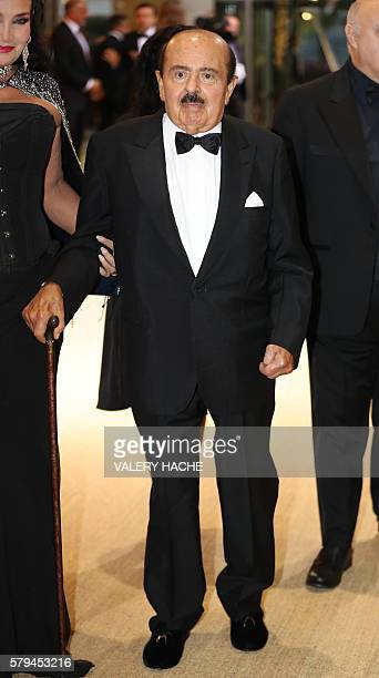 Saudiborn businessman Adnan Khashoggi and Lamia Khashoggi attend the 68th annual Red Cross Gala on July 23 in Monaco Created in 1948 the gala is an...