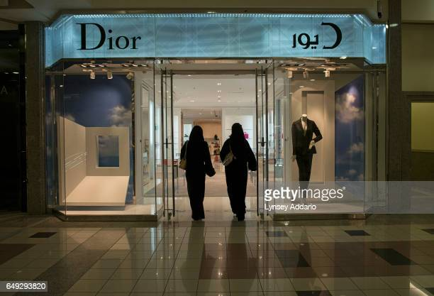 Saudis and foreigners shop in the upscale Kingdom Mall in Riyadh Saudi Arabia Feb 26 2013 In Saudi Arabia poverty and youth unemployment are on the...