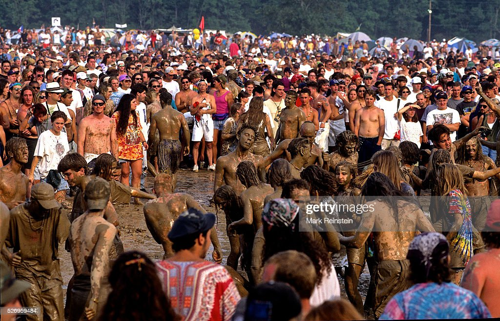 """Woodstock 1994 """"2 More Days of Peace and Music"""" : News Photo"""