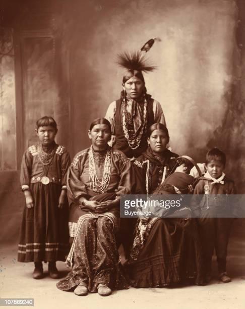 Sauk Indian family 1899