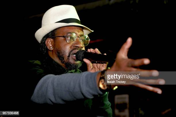 Saukrates performs during 2018 Canadian Music Week at Nocturne on May 10 2018 in Toronto Canada
