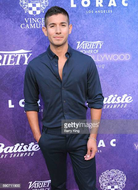 Saul Carrasco attends Variety's Power of Young Hollywood event presented by Pixhug with platinum sponsor Vince Camuto at NeueHouse Hollywood on...