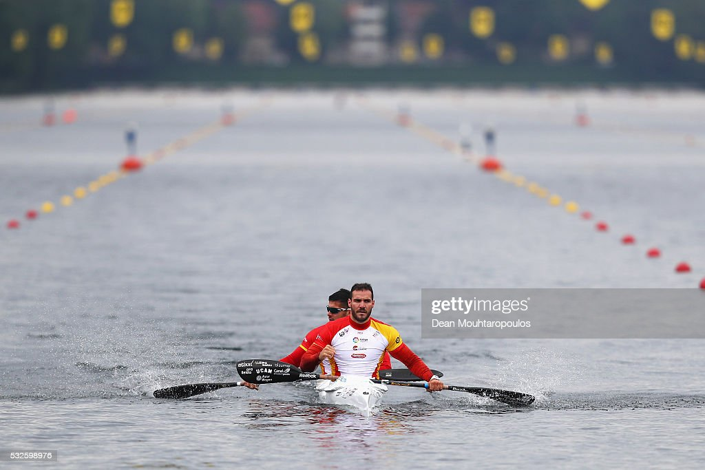 European Canoe Sprint Olympic Qualifier - Day Two