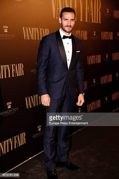 Saul Craviotto attend the gala dinner of Vanity Fair to commemorate its 100 number at Real Academia de Bellas Artes de San Fernando on November 22...