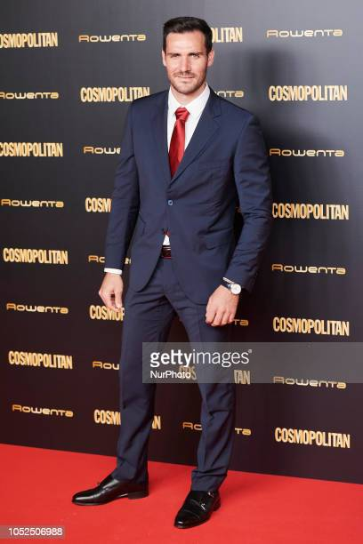 Saul Craviotto attends the Cosmopolitan Magazine Awards 2018 Photocall at 'Florida Retiro' in Madrid on October 18 2018
