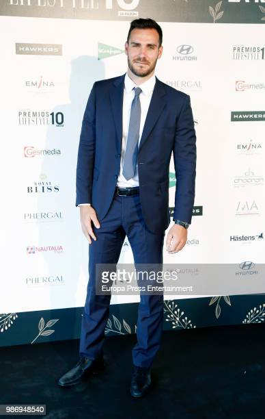 Saul Craviotto attends the 'Lifestyle' Awards 2018 on June 28 2018 in Madrid Spain