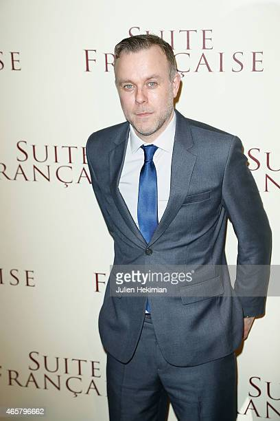 Saul Dibb attends 'Suite Francaise' Premiere at Cinema UGC Normandie on March 10 2015 in Paris France