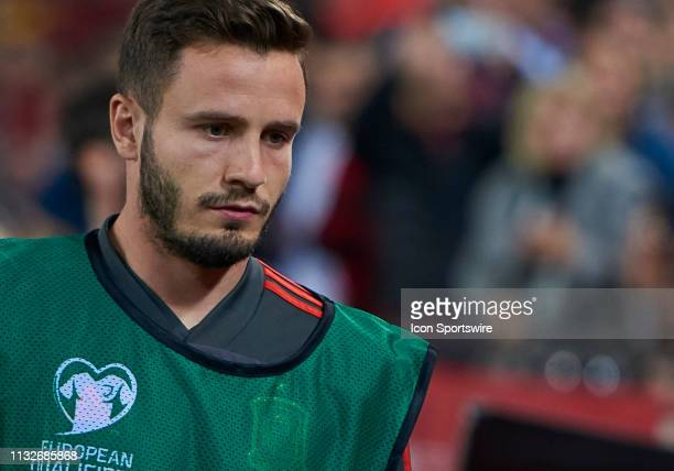 Saul Ñiguez midfielder of Spain looks during the 2020 UEFA European Championships group F qualifying match between Spain and Norway at Mestalla...